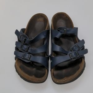 Birkenstock Blue Sandals Size 37